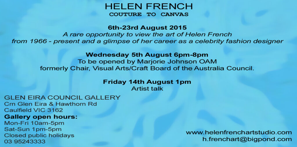 Helen French Exhibition